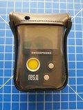 Leren holster Swissphone RES.Q/DExxx-afneembare draaipassant_