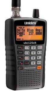 Uniden UBC 125 XLT Scanner